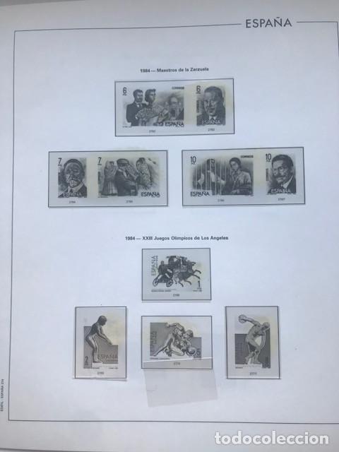 Sellos: Hojas Edifil España año 1984 completo con tarjetas postales y aerogramas 1984 HE80 84 - Foto 8 - 211826200
