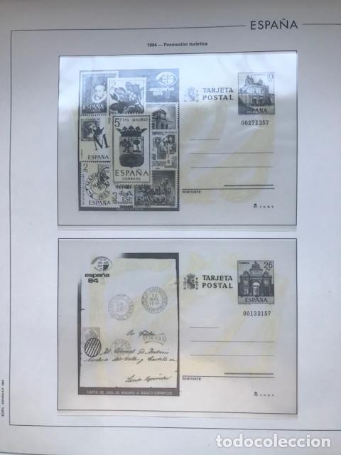 Sellos: Hojas Edifil España año 1984 completo con tarjetas postales y aerogramas 1984 HE80 84 - Foto 3 - 211826200
