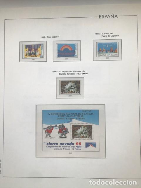 Sellos: Hojas Edifil España año 1995 imageneso en color y montado en transparente 1995 HE90 - Foto 2 - 211827470