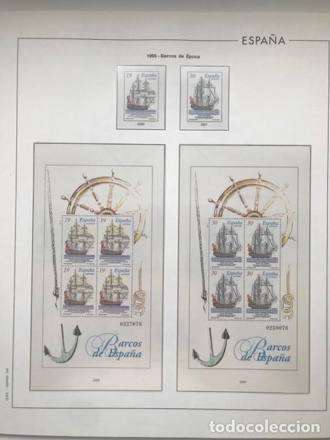 Sellos: Hojas Edifil España año 1995 imageneso en color y montado en transparente 1995 HE90 - Foto 4 - 211827470