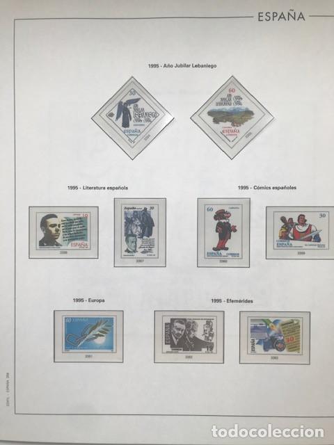 Sellos: Hojas Edifil España año 1995 imageneso en color y montado en transparente 1995 HE90 - Foto 5 - 211827470