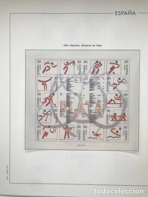 Sellos: Hojas Edifil España año 1995 imageneso en color y montado en transparente 1995 HE90 - Foto 6 - 211827470