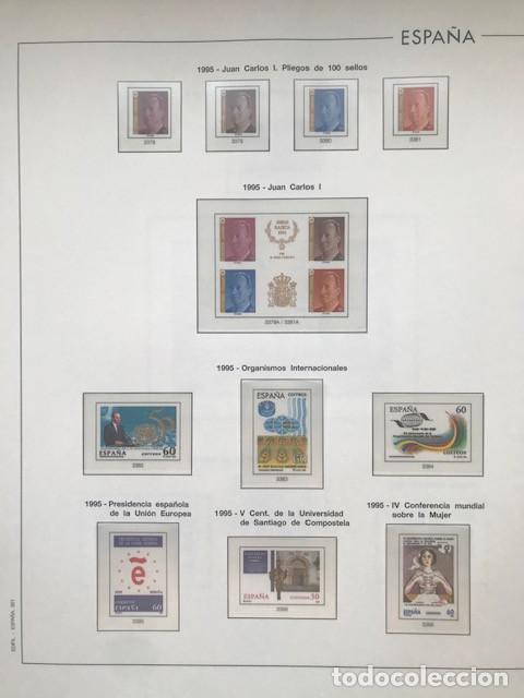 Sellos: Hojas Edifil España año 1995 imageneso en color y montado en transparente 1995 HE90 - Foto 7 - 211827470