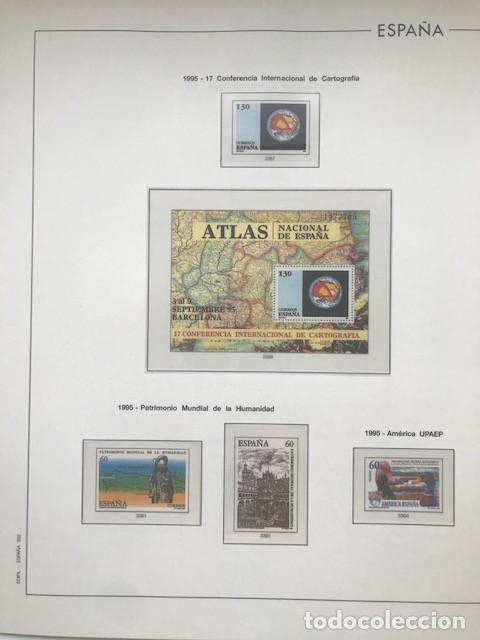 Sellos: Hojas Edifil España año 1995 imageneso en color y montado en transparente 1995 HE90 - Foto 8 - 211827470