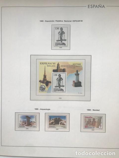 Sellos: Hojas Edifil España año 1995 imageneso en color y montado en transparente 1995 HE90 - Foto 9 - 211827470