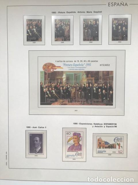 Sellos: Hojas Edifil España año 1995 imageneso en color y montado en transparente 1995 HE90 - Foto 10 - 211827470
