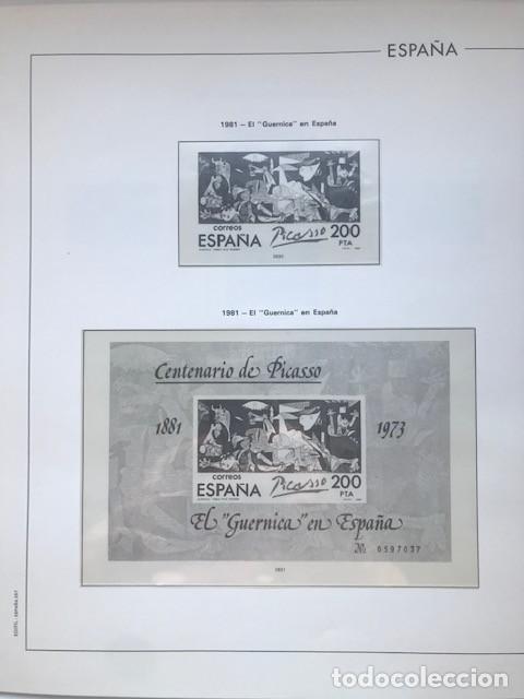 Sellos: Hojas Edifil España año 1981 HE80 81 con tarjetas postales y aerogramas en transparente - Foto 6 - 211828405