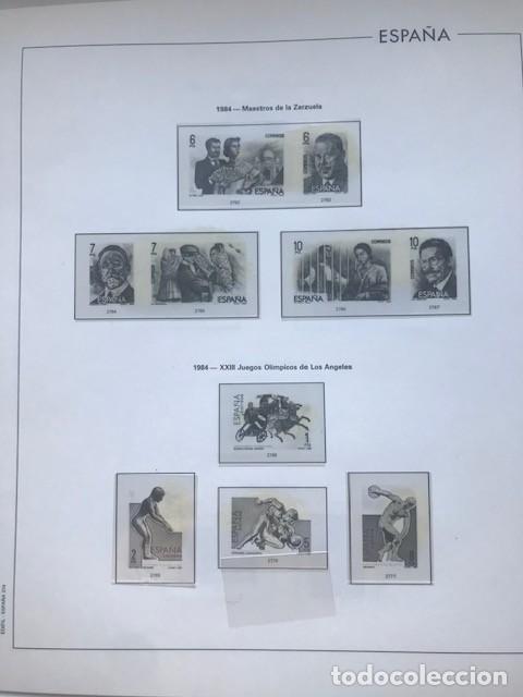 Sellos: Hojas Edifil España 1984 año completo con tarjetas postales y aerogramas en transparente HE80 84 - Foto 6 - 211873621