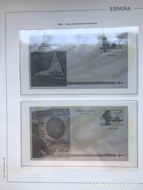 Sellos: Hojas Edifil España 1984 año completo con tarjetas postales y aerogramas en transparente HE80 84 - Foto 10 - 211873621