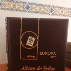 Sellos: ÁLBUM EFILCAR TEMA EUROPA CEPT AÑOS 1995/98 (FOTOGRAFÍA REAL). Lote 212521463