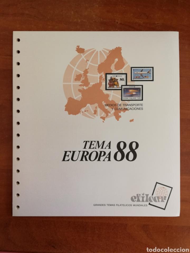 Sellos: ÁLBUM EFILCAR PARA SELLOS DE EUROPA CEPT 1986/90 (FOTOGRAFÍA REAL) - Foto 5 - 212525505