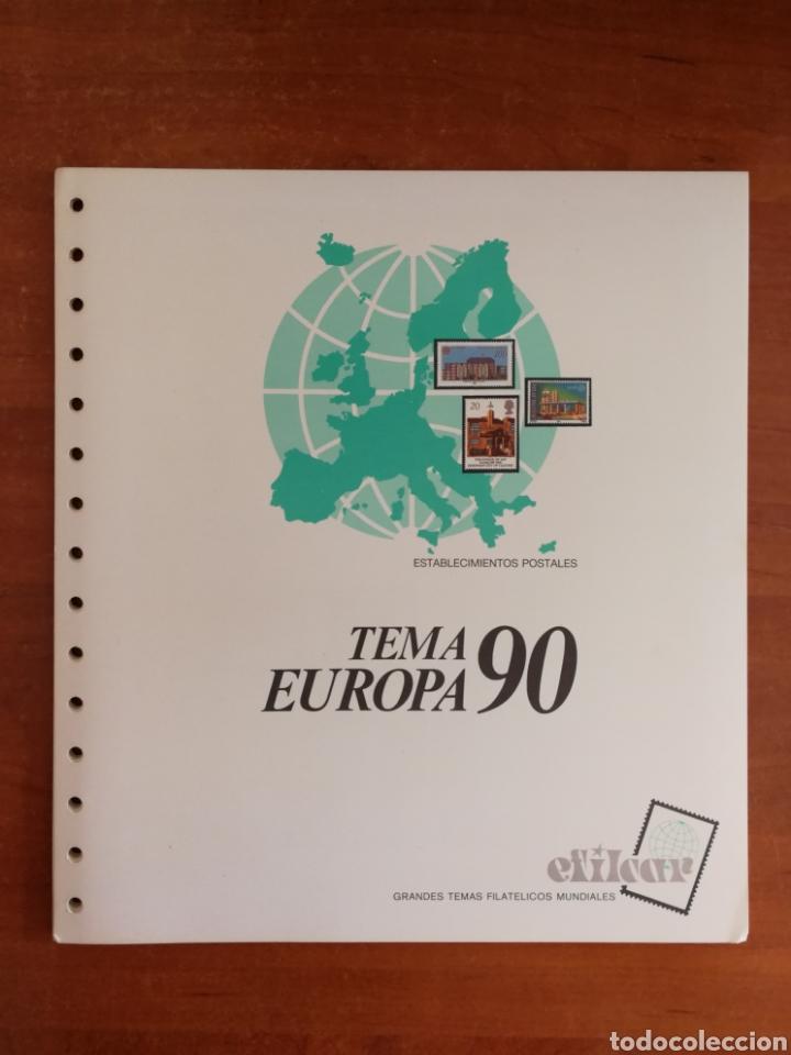 Sellos: ÁLBUM EFILCAR PARA SELLOS DE EUROPA CEPT 1986/90 (FOTOGRAFÍA REAL) - Foto 7 - 212525505