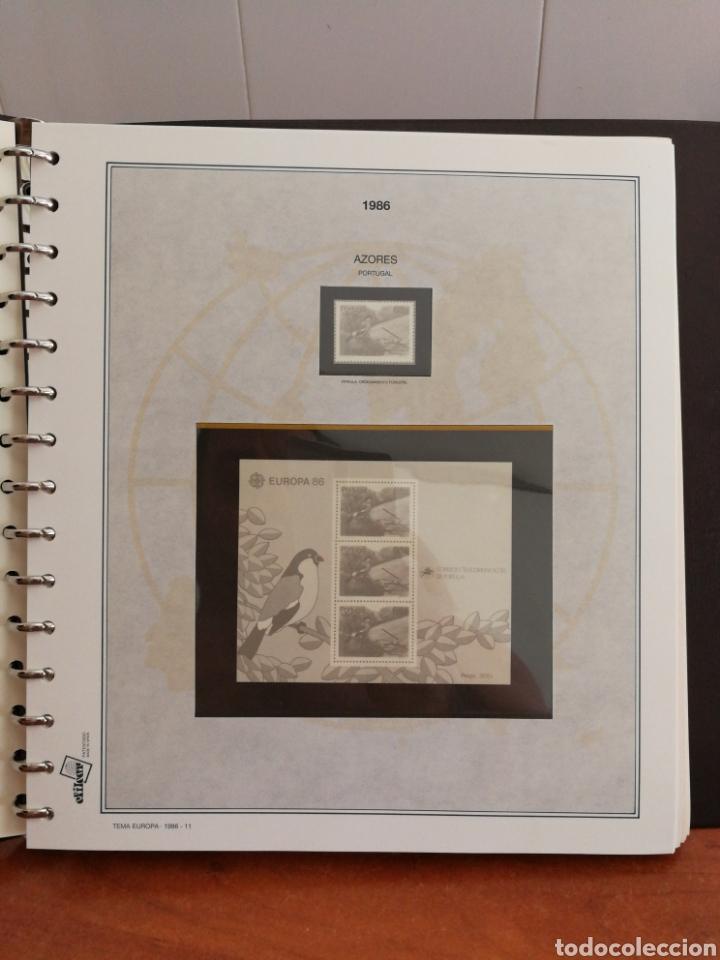 Sellos: ÁLBUM EFILCAR PARA SELLOS DE EUROPA CEPT 1986/90 (FOTOGRAFÍA REAL) - Foto 8 - 212525505