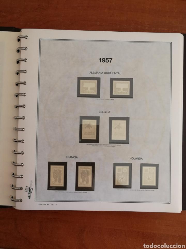 Sellos: ÁLBUM EFILCAR TEMA EUROPA CEPT AÑOS 1956/71 EXCEPTO 1961 (FOTOGRAFÍA REAL) - Foto 4 - 212531818