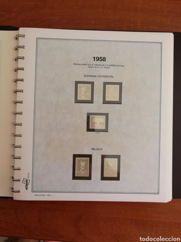 Sellos: ÁLBUM EFILCAR TEMA EUROPA CEPT AÑOS 1956/71 EXCEPTO 1961 (FOTOGRAFÍA REAL) - Foto 5 - 212531818