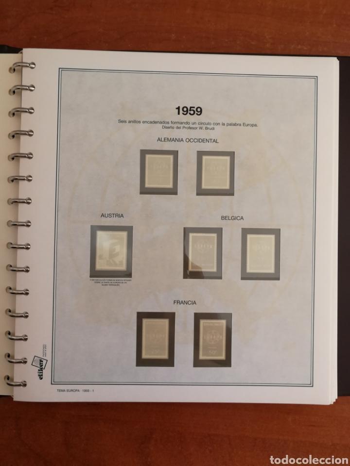 Sellos: ÁLBUM EFILCAR TEMA EUROPA CEPT AÑOS 1956/71 EXCEPTO 1961 (FOTOGRAFÍA REAL) - Foto 6 - 212531818
