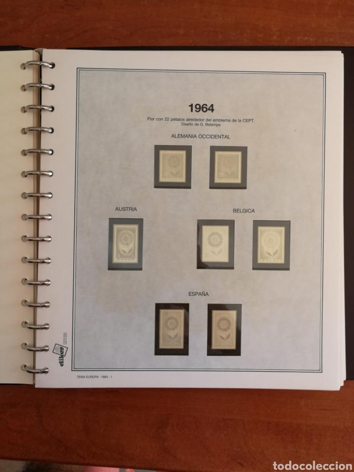 Sellos: ÁLBUM EFILCAR TEMA EUROPA CEPT AÑOS 1956/71 EXCEPTO 1961 (FOTOGRAFÍA REAL) - Foto 10 - 212531818