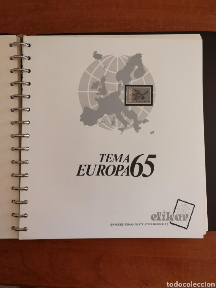 Sellos: ÁLBUM EFILCAR TEMA EUROPA CEPT AÑOS 1956/71 EXCEPTO 1961 (FOTOGRAFÍA REAL) - Foto 11 - 212531818