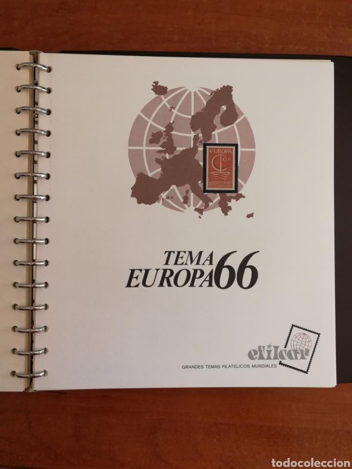 Sellos: ÁLBUM EFILCAR TEMA EUROPA CEPT AÑOS 1956/71 EXCEPTO 1961 (FOTOGRAFÍA REAL) - Foto 12 - 212531818