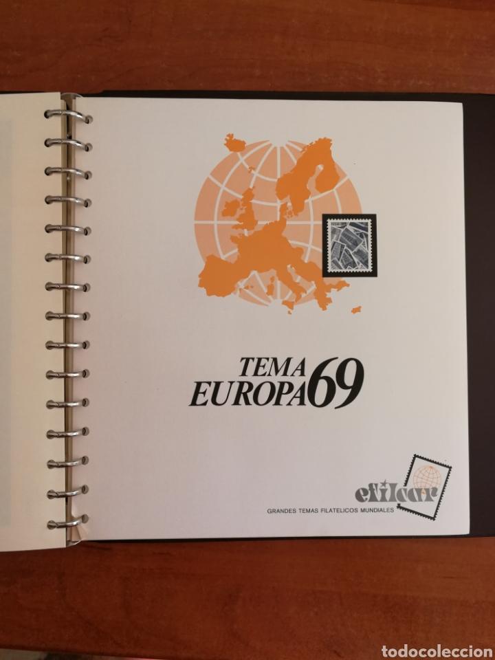 Sellos: ÁLBUM EFILCAR TEMA EUROPA CEPT AÑOS 1956/71 EXCEPTO 1961 (FOTOGRAFÍA REAL) - Foto 15 - 212531818