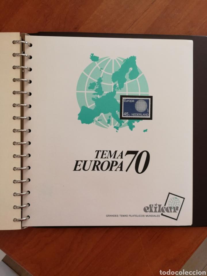 Sellos: ÁLBUM EFILCAR TEMA EUROPA CEPT AÑOS 1956/71 EXCEPTO 1961 (FOTOGRAFÍA REAL) - Foto 16 - 212531818