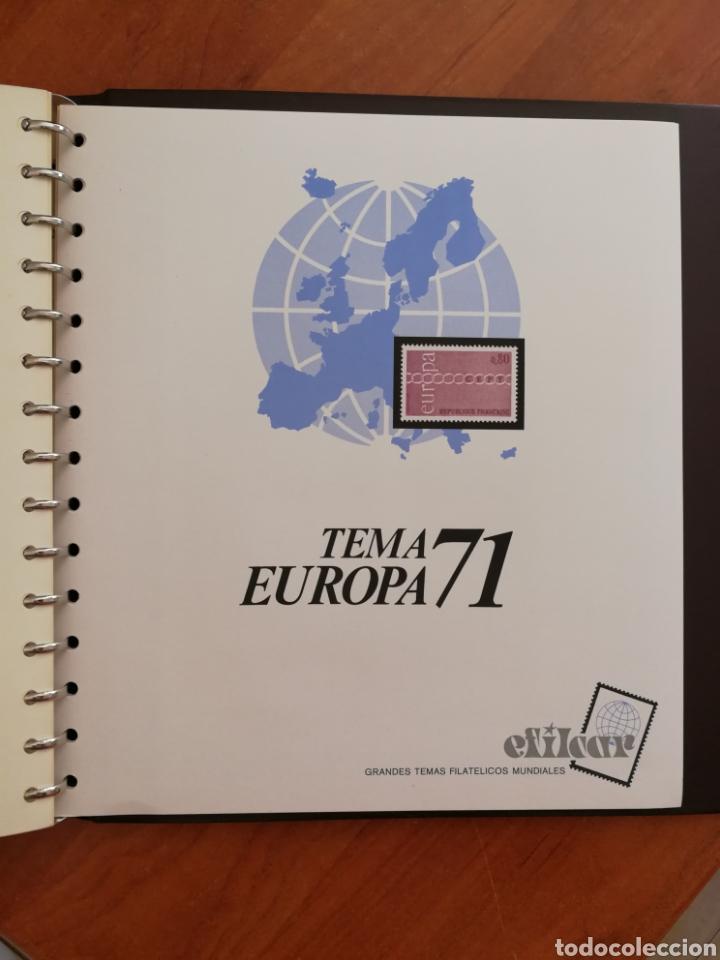 Sellos: ÁLBUM EFILCAR TEMA EUROPA CEPT AÑOS 1956/71 EXCEPTO 1961 (FOTOGRAFÍA REAL) - Foto 17 - 212531818