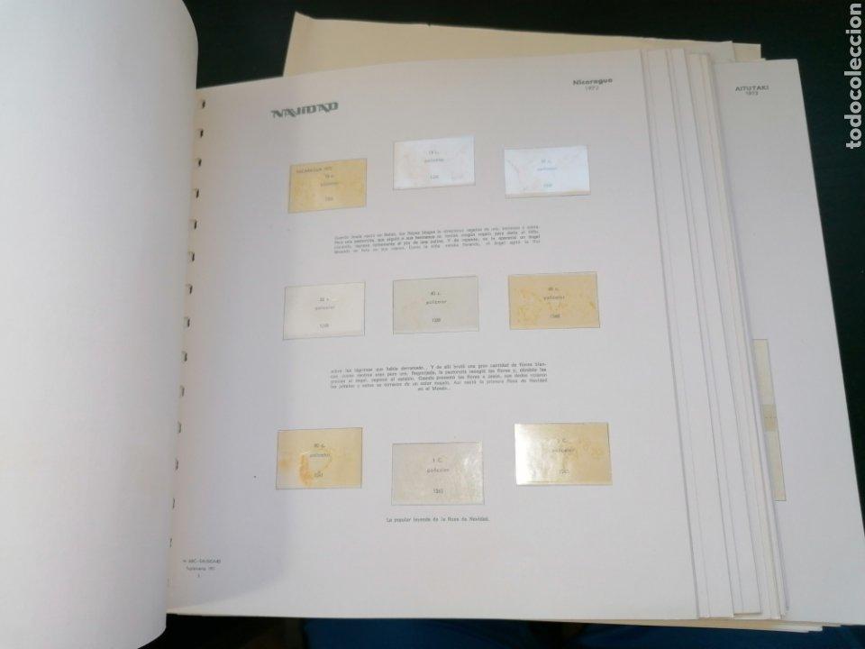 Sellos: Resto Colección Hojas Álbum Navidad 1972 1973 - Foto 3 - 213577050