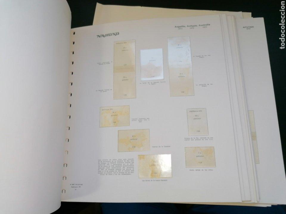 Sellos: Resto Colección Hojas Álbum Navidad 1972 1973 - Foto 4 - 213577050