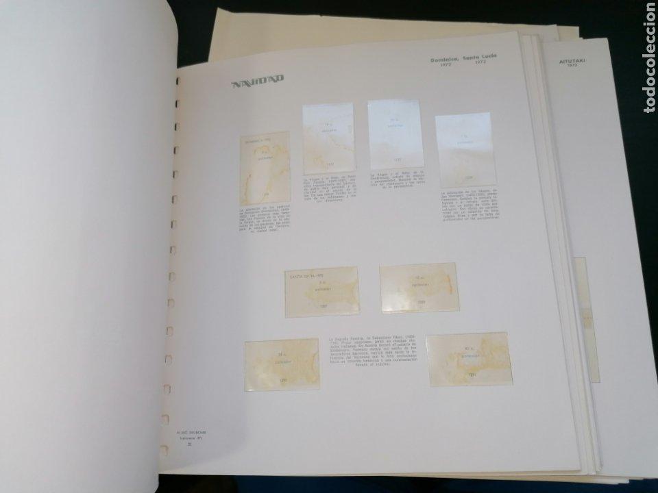 Sellos: Resto Colección Hojas Álbum Navidad 1972 1973 - Foto 6 - 213577050