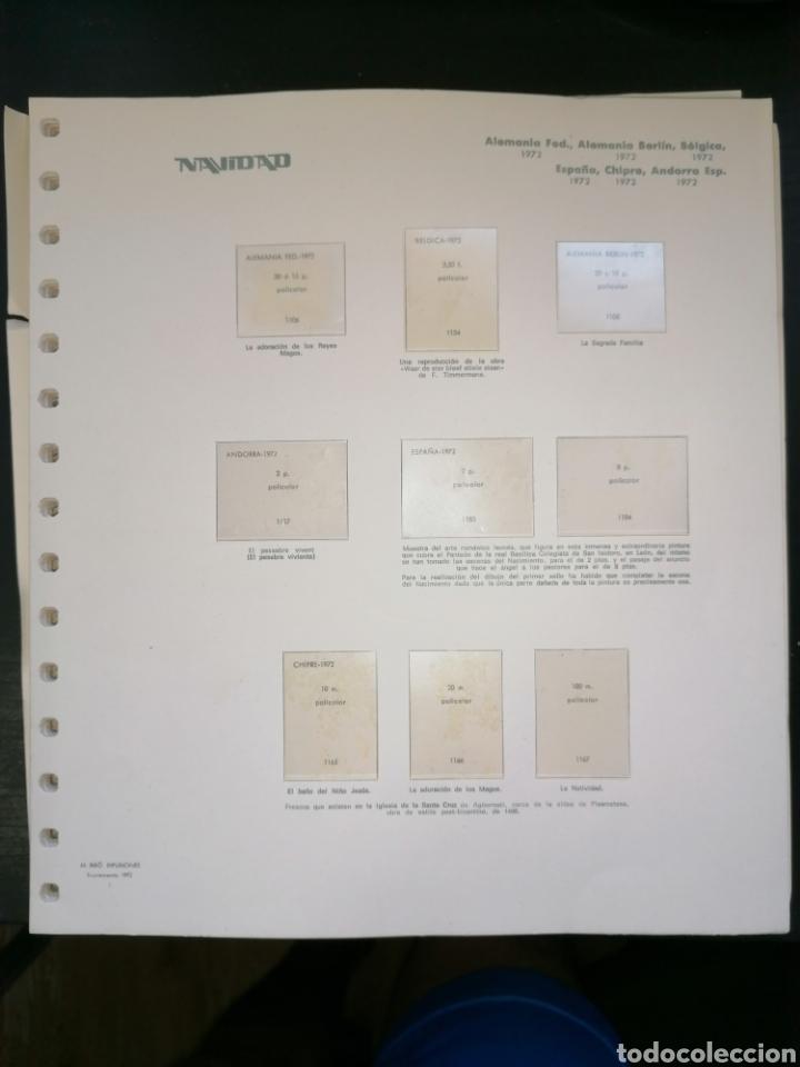 Sellos: Resto Colección Hojas Álbum Navidad 1972 1973 - Foto 20 - 213577050