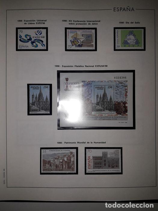 Sellos: Hojas Edifil España año 1998 Suplemento Edifil 1998 filoestuches negros SELOS NO INCLUIDOS HE90 - Foto 4 - 215675297