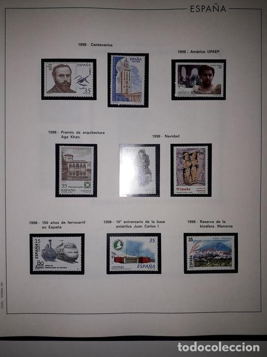 Sellos: Hojas Edifil España año 1998 Suplemento Edifil 1998 filoestuches negros SELOS NO INCLUIDOS HE90 - Foto 9 - 215675297