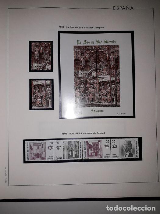 Sellos: Hojas Edifil España año 1998 Suplemento Edifil 1998 filoestuches negros SELOS NO INCLUIDOS HE90 - Foto 10 - 215675297