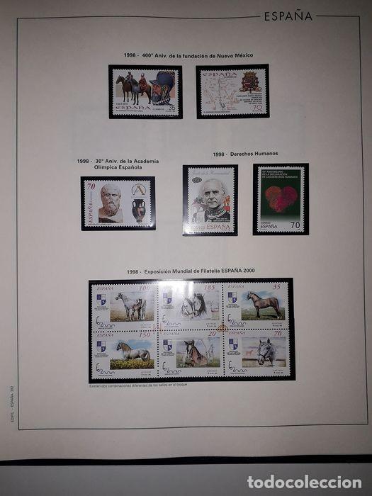 Sellos: Hojas Edifil España año 1998 Suplemento Edifil 1998 filoestuches negros SELOS NO INCLUIDOS HE90 - Foto 11 - 215675297