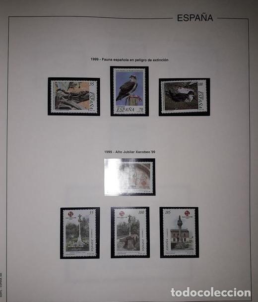 Sellos: Hojas Edifil España año 1999 Suplemento Edifil 1999 filoestuches negros SELOS NO INCLUIDOS HE90 99 - Foto 5 - 215675577