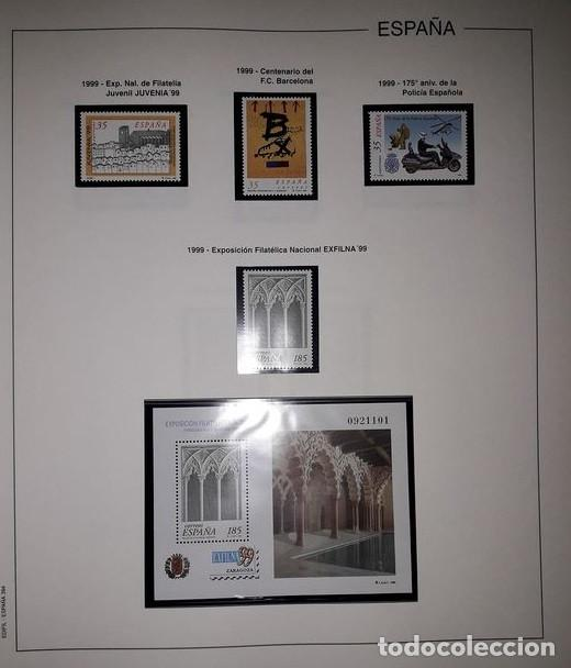Sellos: Hojas Edifil España año 1999 Suplemento Edifil 1999 filoestuches negros SELOS NO INCLUIDOS HE90 99 - Foto 6 - 215675577
