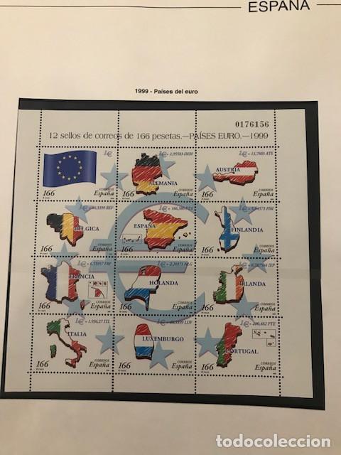 Sellos: Hojas Edifil España año 1999 Suplemento Edifil 1999 filoestuches negros SELOS NO INCLUIDOS HE90 99 - Foto 8 - 215675577