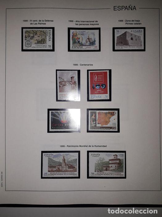 Sellos: Hojas Edifil España año 1999 Suplemento Edifil 1999 filoestuches negros SELOS NO INCLUIDOS HE90 99 - Foto 10 - 215675577