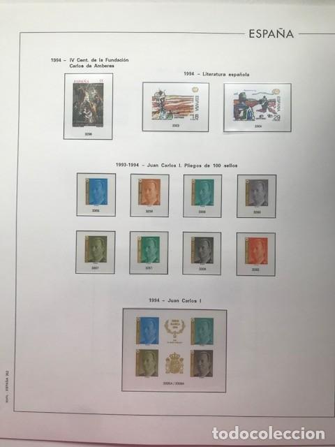 Sellos: Hojas Edifil España año 1994 en transparentes HE90 Suplemento Edifil año 1994 - Foto 5 - 215721608
