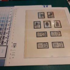 Sellos: 1978 ESPAÑA HOJAS LINDNER NÚMERO 46/50 FILATELIA COLISEVM. Lote 218022297