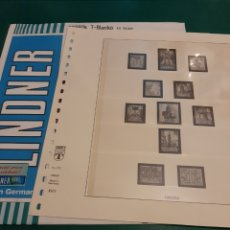 Francobolli: PLAN SUR VALENVIA HOJA ESPAÑA LINDNER 1963/1984. Lote 218023510