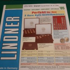 Sellos: 2005 ESPAÑA HOJA LINDNER MINI PLIEGO 2005 ANIVERSARIO PRINCIPE ASTURIAS. Lote 218025751