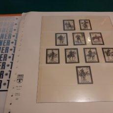Sellos: HOJAS LINDNER ESPAÑA AÑO 1977 40/45. Lote 218030442