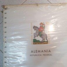Sellos: ALEMANIA FEDERAL HOJAS DE ÁLBUM EDIFIL SUPLEMENTO AÑOS 1970-1987 SIN MONTAR (NUEVAS). Lote 218522277