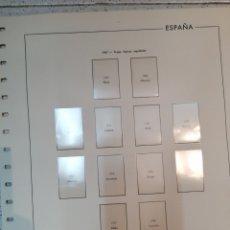 Timbres: ESPAÑA HOJAS DE ÁLBUM EDIFIL AÑO 1967 MONTADAS EN BLANCO (SEGUNDA MANO). Lote 219156898