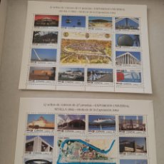Sellos: ESPAÑA 3164/87** - AÑO 1992 - EXPO 92, EXPOSICIÓN UNIVERSAL DE SEVILLA. Lote 220379347