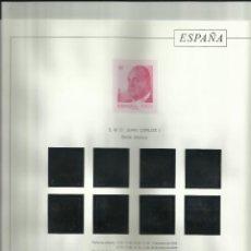 Sellos: HOJAS DEL ALBUM TORRES DEL 2006 AL 2010 MONTADAS EN NEGRO. Lote 220945980