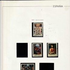 Sellos: 1979 EDIFIL HOJA ESPAÑA 245 JUAN DE JUANES. ESTUCHADO NEGRO.. Lote 220948501