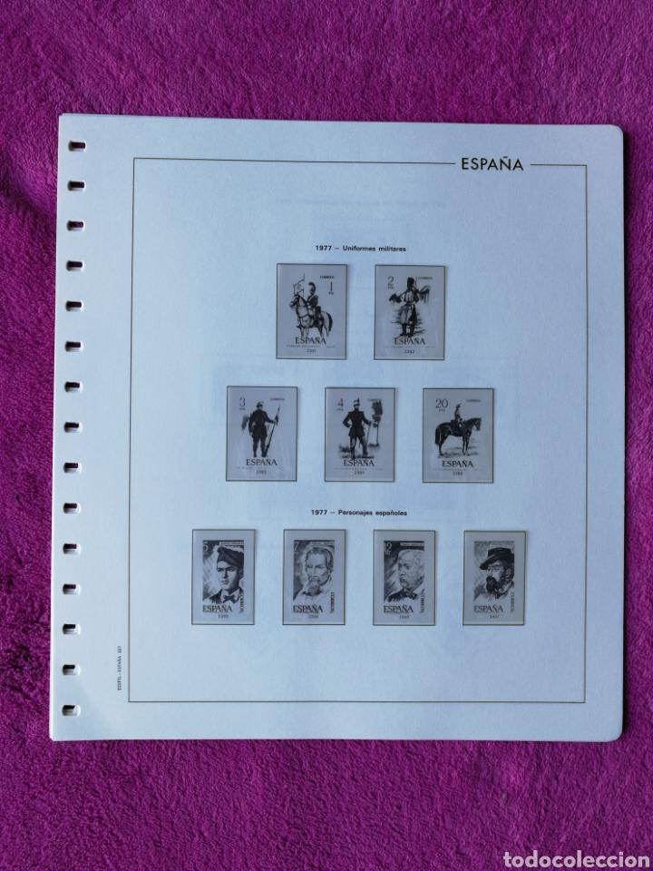 Sellos: HOJAS EDIFIL AÑO 1977 COMPLETO (FOTOGRAFÍAS REALES) - Foto 2 - 221114748