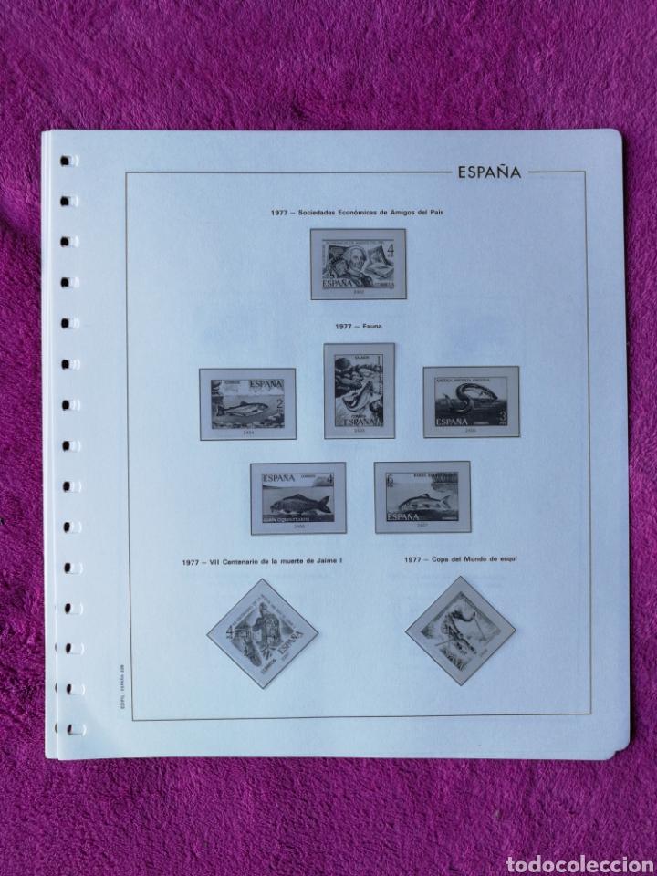 Sellos: HOJAS EDIFIL AÑO 1977 COMPLETO (FOTOGRAFÍAS REALES) - Foto 3 - 221114748